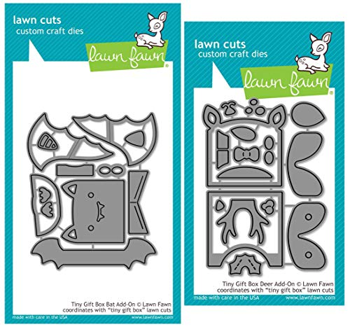 Lawn Fawn Tiny Gift Box Add-ons - Bat