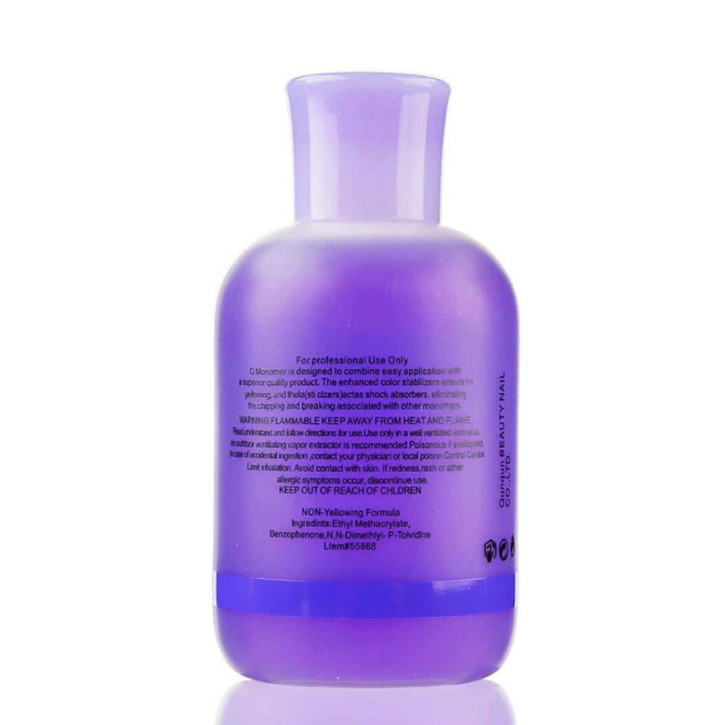 Banstore Professional Nail Polish Q Monomer Acrylic Nail Liquid Crystal Liquid (150ml)