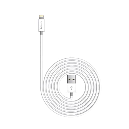 Kanex Apple Certified Lightning to USB Cable with SureFit Connector 4 feet (1.2 M) White