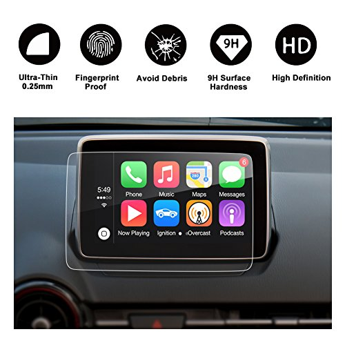 RUIYA 2016 2017 Mazda CX-3 MX-5 Specialized Tempered Glass Protector for Navigation Screen Protector 7 Inches