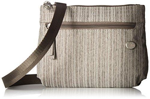 HAIKU Women's Impulse Small Crossbody RFID Blocking Travel Bag, Gray ()