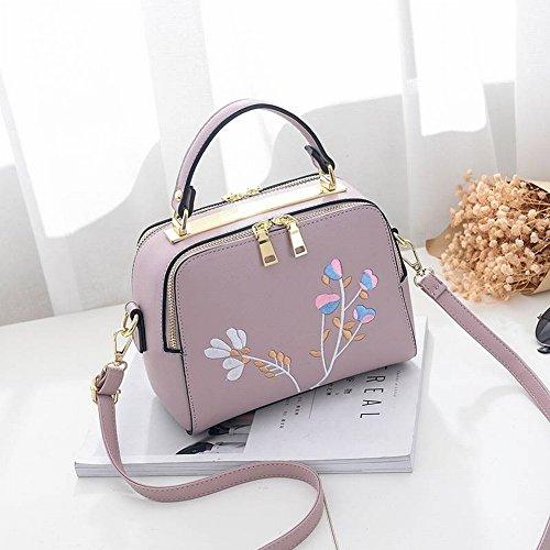 Weibliche Kleine Quadratische Tasche Leder Handtaschen Rindleder Handtaschen Schulter Messenger Bag Shell Freizeitmode , Weiß