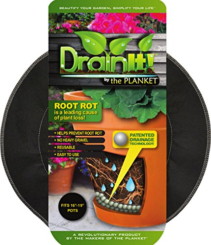 DrainIt! Plant Container Disc, 16 to 19-Inch ()