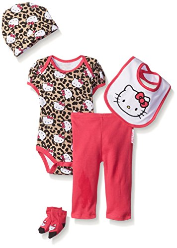 Hello Kitty Baby Girls' Baby Gift Set, Pink, 0-6 Months