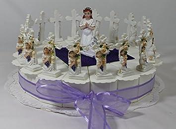 Gastgeschenk Bonboniere Torte Kommunion Konfirmation Tischdeko