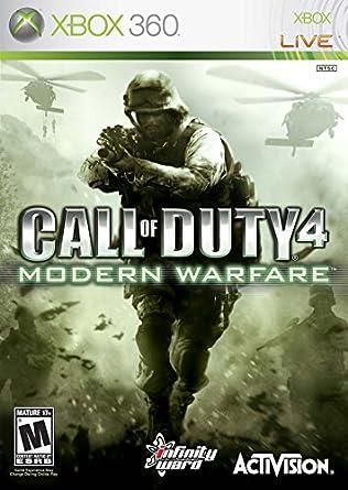 Activision Call of Duty 4 - Juego (Xbox 360, Acción, M (Maduro)): Amazon.es: Videojuegos
