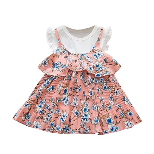 VEFSU Fashion Toddler Baby Kids Girls Ruffles Floral