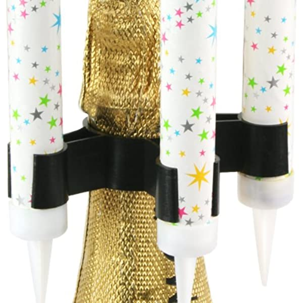 Clip para botella de chispa | Clip de chispa, clip para fuente de hielo, clip de chispas de luz: Amazon.es: Hogar