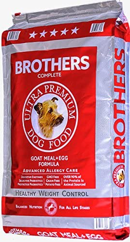 Brothers Complete Dog Food Goat Meal and Egg Advanced Allergy Care Dog Food, 25 lb