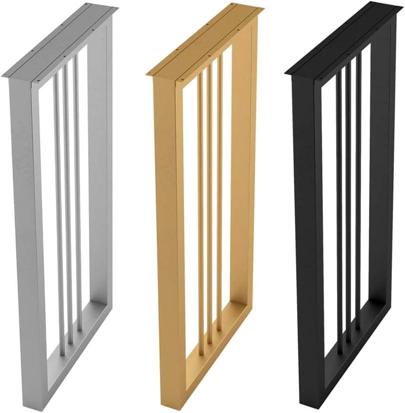 QXXXQ メタル テーブル脚 70cm 家具の足 台所 家具サポート 交換脚 100cm 黒/金/銀 1本 セット