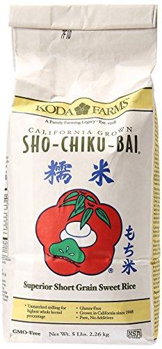 Sho Chiku Bai Sweet Rice, 5 Pound