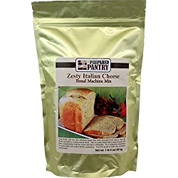 The Prepared Pantry Zesty Italian Cheese Bread Machine Mix, 21 Ounce