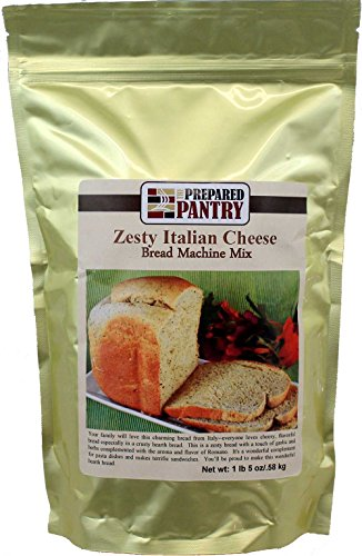 - The Prepared Pantry Zesty Italian Cheese Bread Machine Mix, 21 Ounce