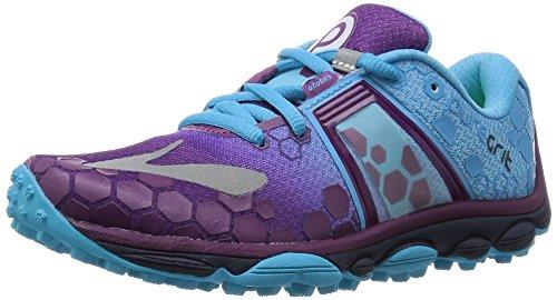 Brooks Puregrit 4 - Zapatillas de Entrenamiento Mujer Morado (Phlox/Aquarius/Peacoat 517)