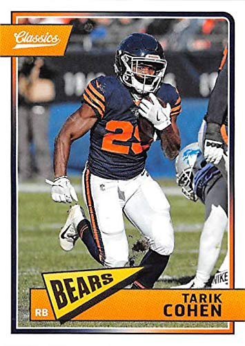 6cbaf35e4 Tarik Cohen football trading card (Chicago Bears RB) 2018 Classics ...
