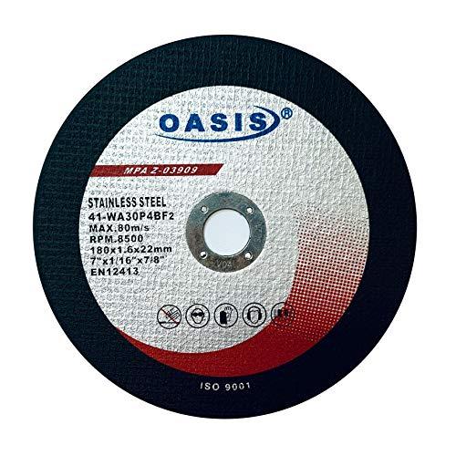 25 Pack - OASIS 7 inch Cutoff Wheels 7