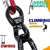 GM CLIMBING 30kN Micro Rotator Climbing Rope Swivel
