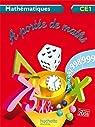 A portée de maths CE1 - Guide pédagogique - Ed. 2012 par Lucas