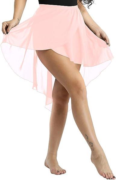 Alvivi Mujeres Falda Danza del Vientre Ballet Disfraz Traje de ...