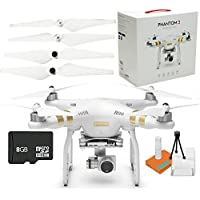 DJI Phantom 3 Professional PRO Quadcopter Drone Brand New in Original Box Package with Accessories