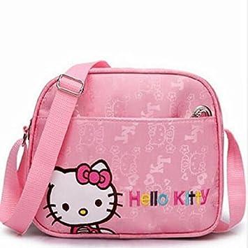 9489968dea72 Amazon.com   New Cartoon Pink Child Bags Fashion Messenger Bag Christmas  Gift Bag Girl Women Cute   Beauty