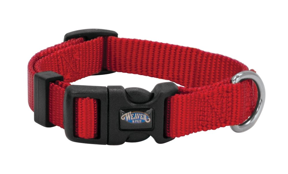 Weaver Leather Prism Snap-N-Go Collar, Large, Red