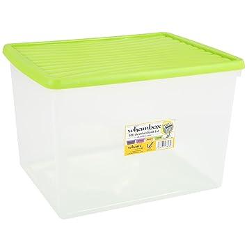 Aufbewahrungs Box Archiv 50 Liter Limette Passend Fur Din A4 Ordner