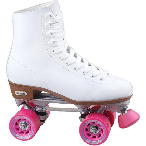 Chicago Women's Classic Roller Skates – White Rink Skates from Chicago Skates