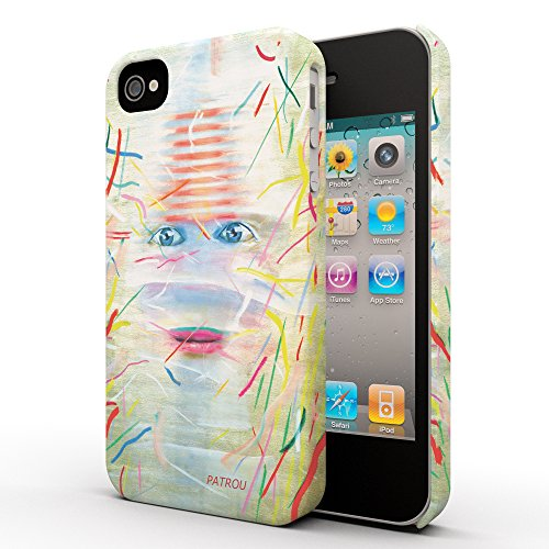 Koveru Back Cover Case for Apple iPhone 4/4S - Girl in cage of dreams