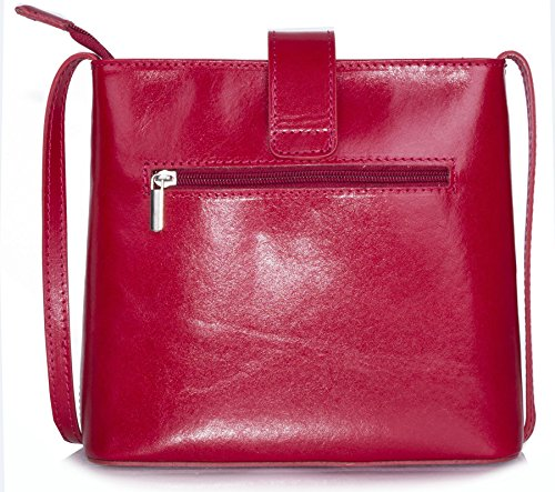 LiaTalia Genuine Storage Bag Body Cross Italian Leather Protective Shoulder Handbag with rrdvPqx