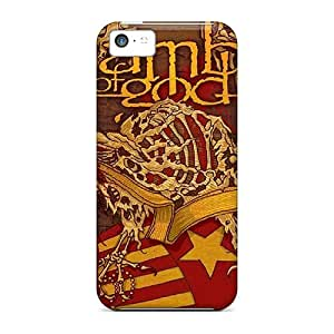 Protector Hard Phone Cases For Iphone 5c With Unique Design HD Lamb Of God Pictures TimeaJoyce