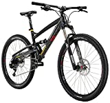 "Diamondback Bicycles Atroz Comp Full Suspension Mountain Bike, Gloss Black, 16""/Small"
