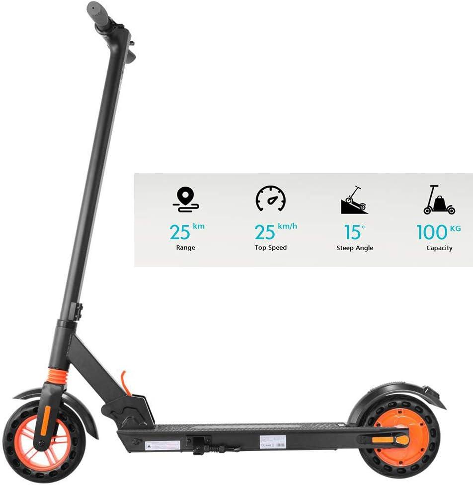 H/öchstgeschwindigkeit 25 km//h,Ultraleichter faltbarer Elektroroller f/ür Erwachsene und Jugendliche Stadtroller E Scooter Elektroscooter Adult,LCD-Display,26 km lange Strecke,zwei 250-W-Motoren