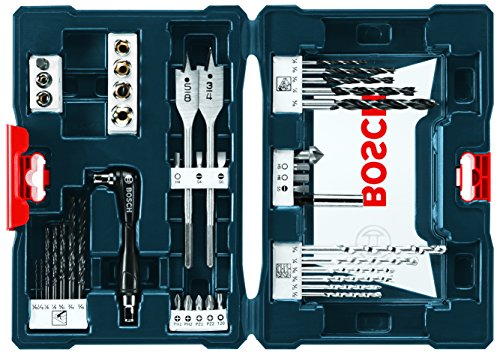 Power Drill Accessory Set - Bosch MS4041 41-Piece Drill and Drive Bit Set