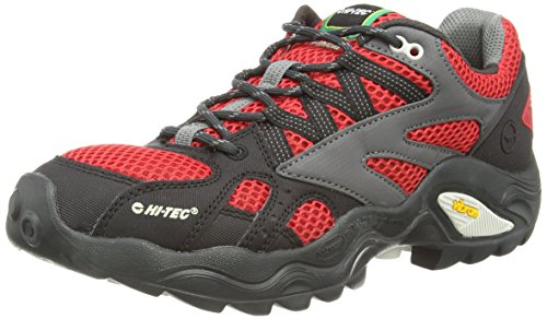 Hi Walking lite Rot Red Force Shoes Nordic I Flash Low Men's 100 V Tec ranwq76r