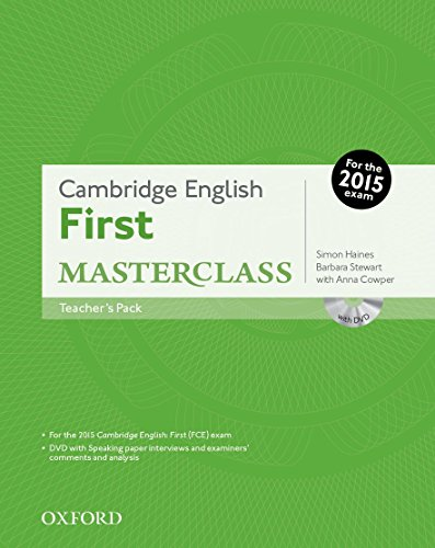 Cambridge English: First Masterclass: Teacher's Pack
