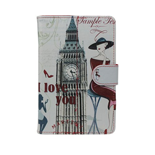 Meily(TM) Universal Belfry Girl Pattern Case Cover For Android Tablet 7 Inch