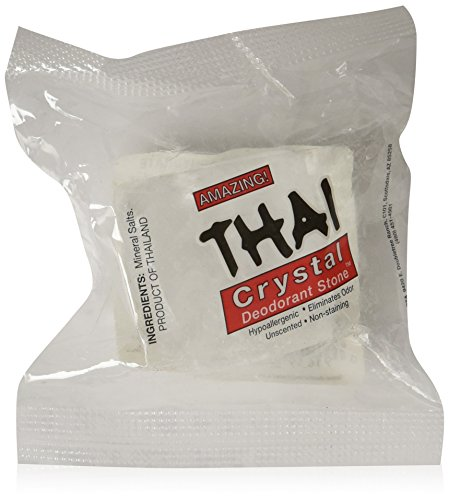 Thai Crystal Deodorant Stone's Size 2 oz. each, 6 Count