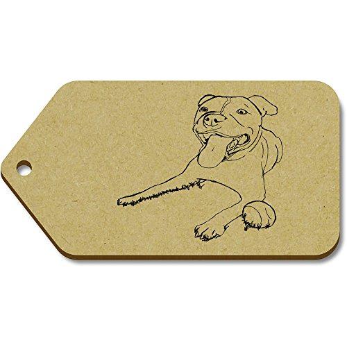 Azeeda X regalobagagliotg00010872 99mm Large 'Staffordshire Terrier' 51mm Bull 10 Tag 8nN0kXZwOP