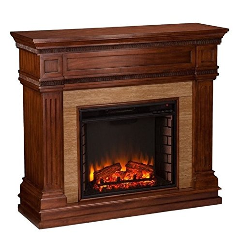 Southern Enterprises Faircrest Electric Fireplace,, used for sale  Delivered anywhere in USA