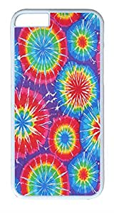 """IMARTCASE iPhone 6 Case, Tie Dye Patterns iPhone 6 Case and Cover Polycarbonate Hard Plastic Case for iPhone 6 4.7"""" White"""