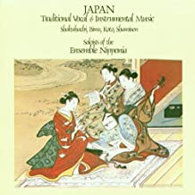 Japan-Trad. Vocal and Instru.