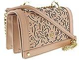 Roberto Cavalli HXLPD2 020 Beige Shoulder Bag for Womens
