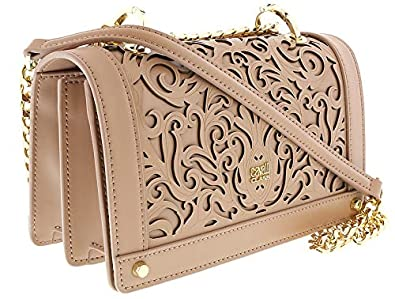13592ff96b7ad Image Unavailable. Image not available for. Color: Roberto Cavalli HXLPD2  020 Beige Shoulder Bag for Womens