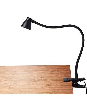 CeSunlight Clamp Desk Lamp, Clip on Reading Light, 3000-6500K Adjustable Color Temperature