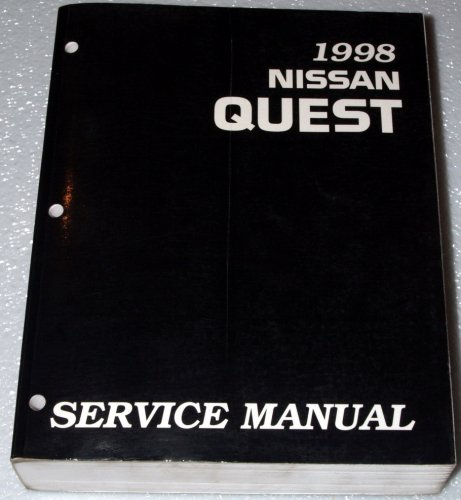 1998 Nissan Quest Factory Service Manual (V40 Series, Complete Volume)