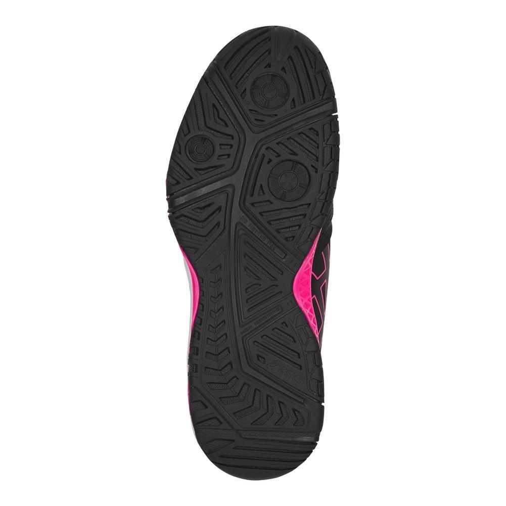 ASICS Women's Gel-Challenger 11 Tennis Shoe B07147VM9X 6 B(M) US|Black/Black/Hot Pink