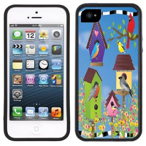 Vogelhäuser   Handgefertigt   iPhone 5 5s   Schwarze Hülle