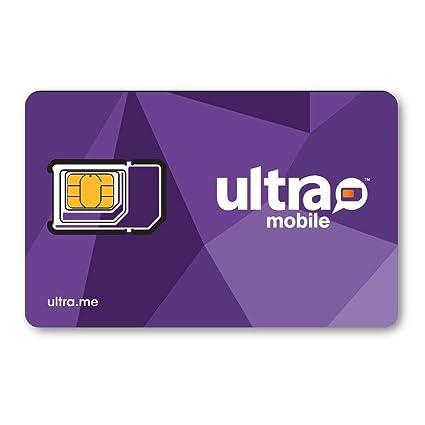 Amazon.com: Ultra Mobile Triple Planes de Punch tarjeta SIM ...