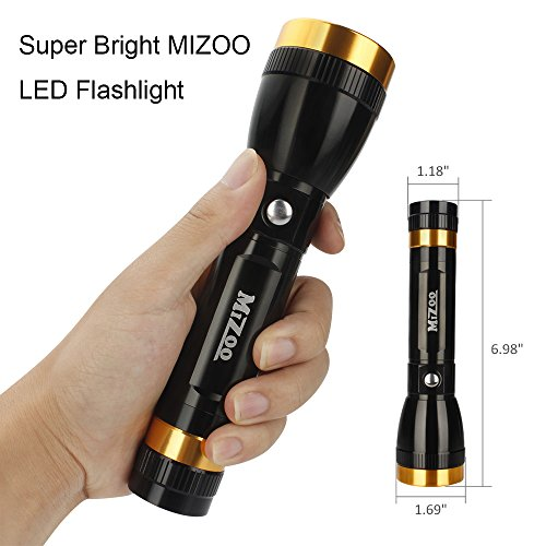 From USA ★ MIZOO Tactical Led Flashlight, Multi-function ...